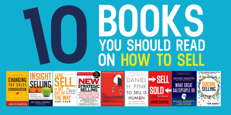 10 books to read on how to sell