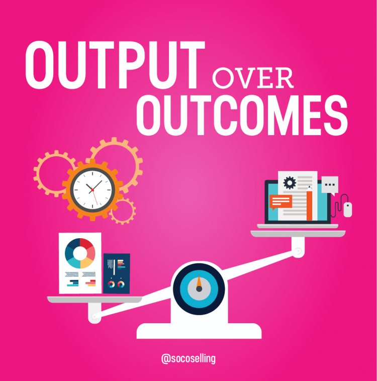 output over outcomes quote, Leadership Quotes Images