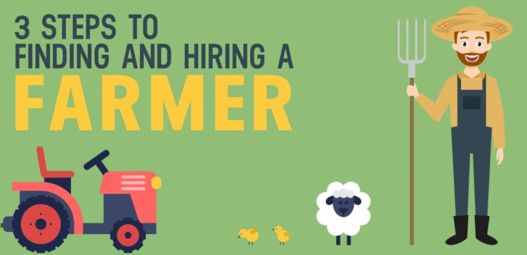 how to find and hire a farmer for a sales role