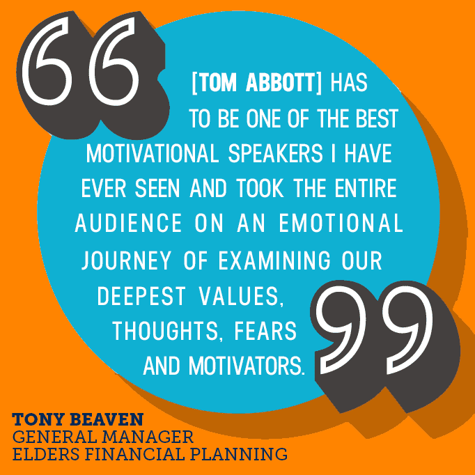 Best Motivational Speaker in Singapore - Tom Abbott