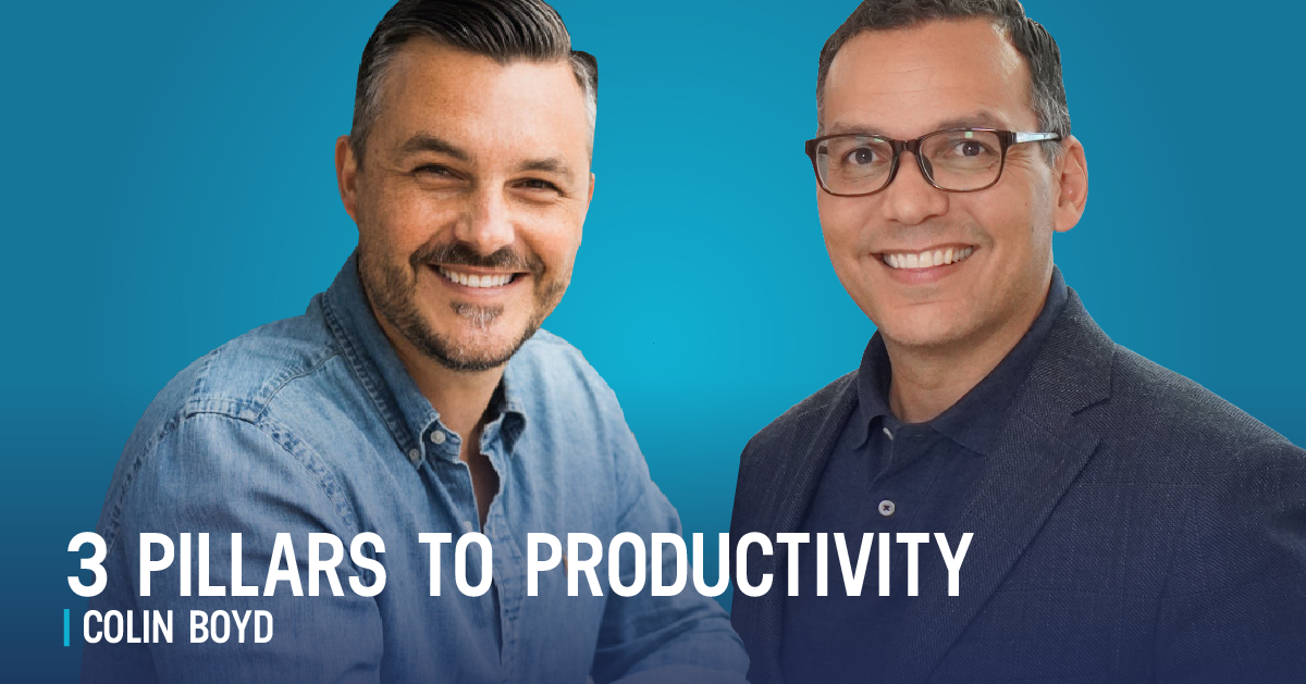 3 Easy Ways Salespeople Can Be More Productive – Interview with Colin Boyd