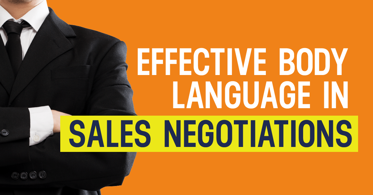 effective body language in sales negotiations