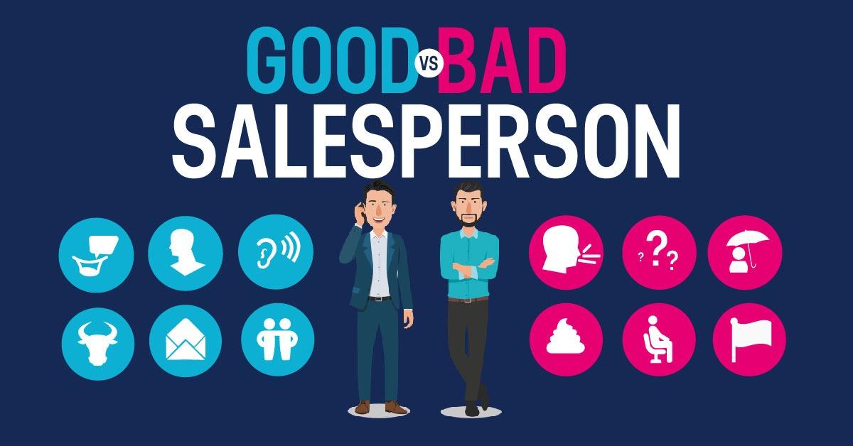 good vs bad salesperson article thumbnail