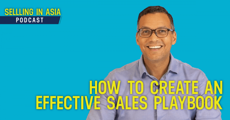 how to create an effective sales playbook
