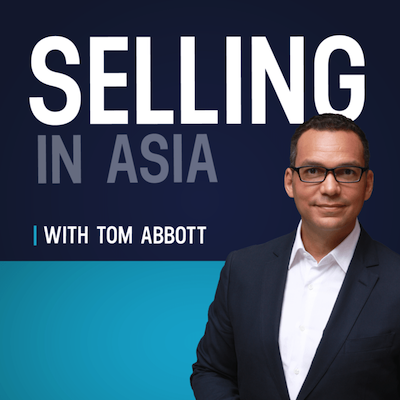 sales training company selling in asia podcast