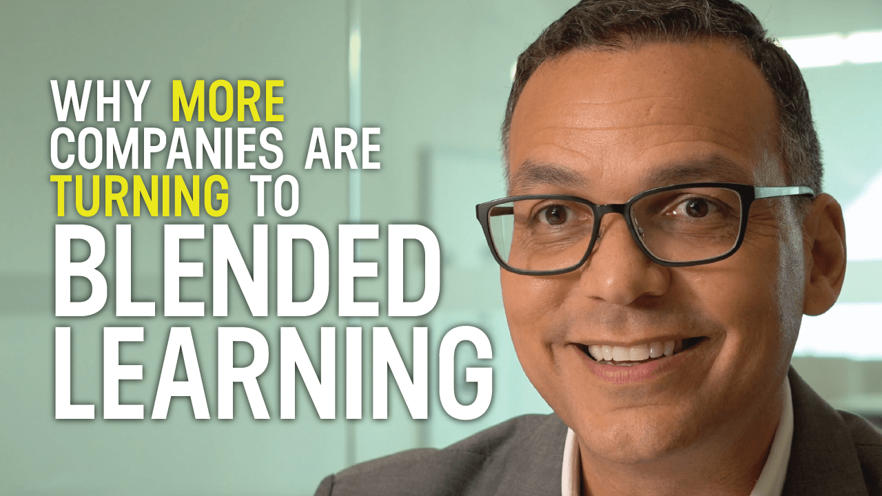 Why More Companies Are Turning to Blended Learning