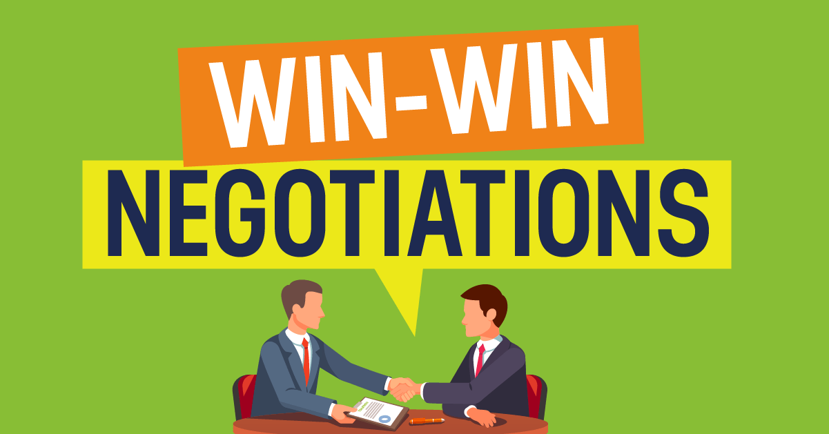 What You Need to Know About Win-Win Negotiations